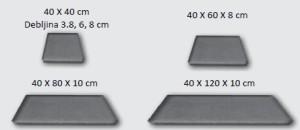 Dimenzije betonske ploče Prestige